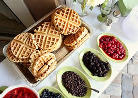 Waffles And Toppings